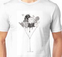 Martini Ice Cream Sundae Unisex T-Shirt