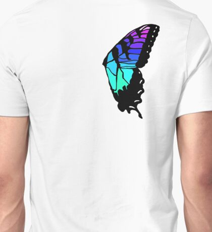 Brand new eyes' butterfly wing inspired fan art Unisex T-Shirt