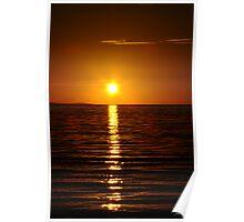 Sunset, Busselton, WA Poster