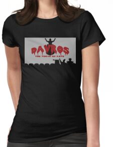 Timelord Theater 3000 Deluxe Womens Fitted T-Shirt