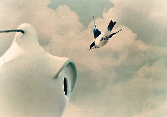 Going Home... by Karen  Helgesen