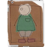 Brown paper boy iPad Case/Skin