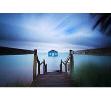 Crawley Boat Shed, Perth Photographic Print