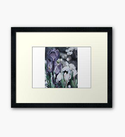 A Lavender Dream. Framed Print