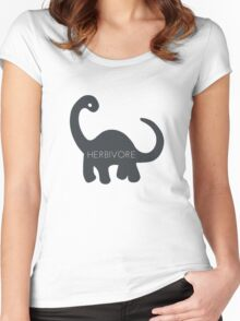 Herbivore - Dinosaur  Women's Fitted Scoop T-Shirt