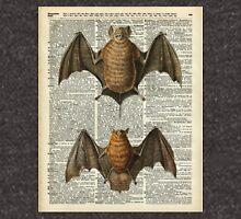 Bat Anatomy Over Encyclopedia Page Zipped Hoodie