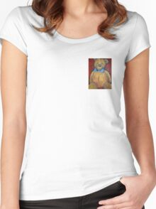 Teddy Bear Women's Fitted Scoop T-Shirt