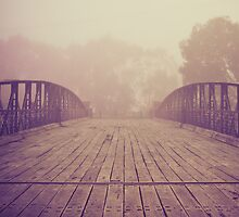 Ye Old Swingbridge by Judith Cahill