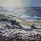 Sea and Stones French Beach by TerrillWelch