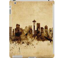 Seattle Washington Skyline iPad Case/Skin