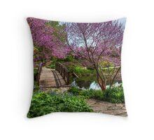 Garden Stroll Throw Pillow