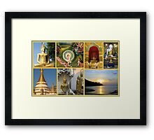 Impressions of Thailand featured in Postcard Destinations Framed Print
