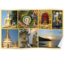 Impressions of Thailand featured in Postcard Destinations Poster