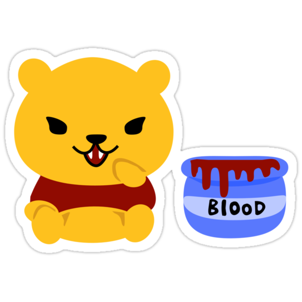 Vampire Pooh by GeekCupcake