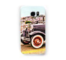 Zipping Through Town Samsung Galaxy Case/Skin