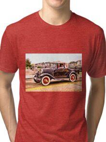 Zipping Through Town Tri-blend T-Shirt