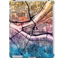 Pittsburgh Pennsylvania Street Map iPad Case/Skin