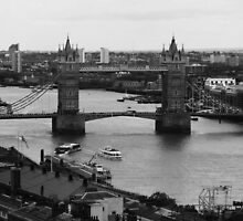 London Bridge over the Thames by MichelleRees