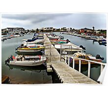 Port Alfred Small Boat Harbour.  RSA Poster