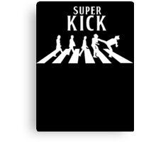 Super Kick Canvas Print