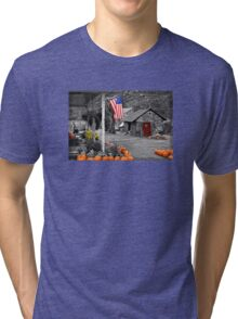 Rural America - Fall Harvest Tri-blend T-Shirt