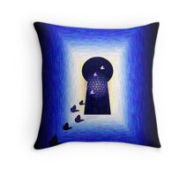Into the Mystic... Throw Pillow