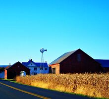 My Farm     -           Luray, Virginia by James Brotherton