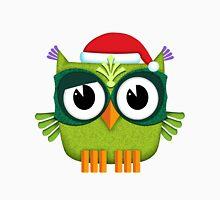 Owl Santa Claus green Unisex T-Shirt
