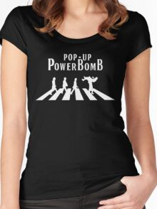 Pop - Up Powerbomb  Women's Fitted Scoop T-Shirt