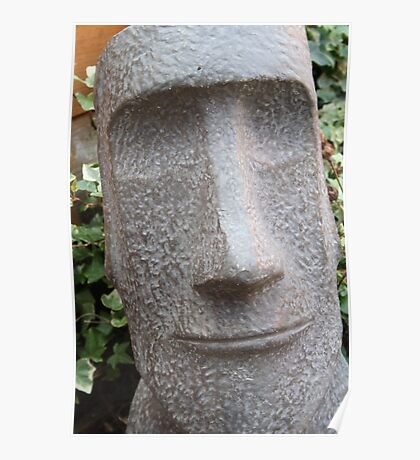Easter island head Poster