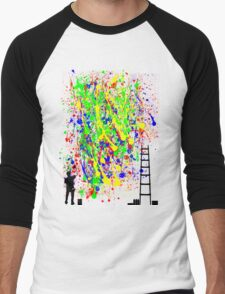 Night Artist Men's Baseball ¾ T-Shirt