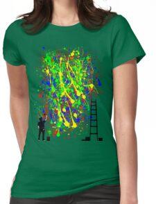 Night Artist Womens Fitted T-Shirt
