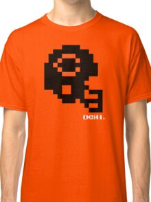 Tecmo Bowl - Chicago - 8-bit - Mini Helmet shirt Classic T-Shirt