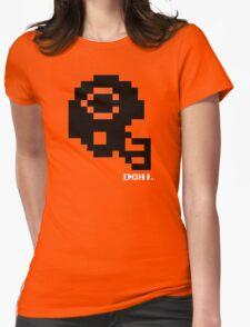 Tecmo Bowl - Chicago Bears - 8-bit - Mini Helmet shirt Womens Fitted T-Shirt