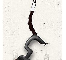 Hook's hook (Apple iPhone logo) by Miranda Bartley