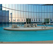 Pool Reflections - Revel    ^ Photographic Print