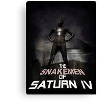 The Snakemen of Saturn IV Canvas Print