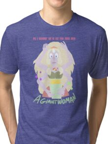 Giant Woman Tri-blend T-Shirt