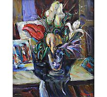 Still life with flowers Photographic Print