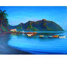 Kaneohe Bay - early morn Photographic Print