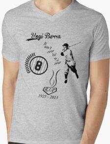 Yogi Berra RIP bl Mens V-Neck T-Shirt
