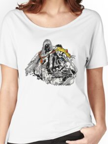 Shangri-La Tiger Graphic Illustration, Far Cry  Women's Relaxed Fit T-Shirt