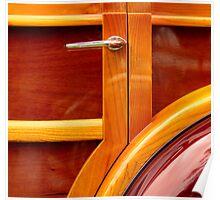 1941 Packard 120 Woody Sedan Poster