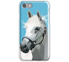 White Horse iPhone Case/Skin