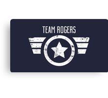 Team Rogers - Civil War Canvas Print