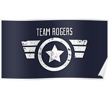 Team Rogers - Civil War Poster