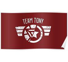 Team Tony - Civil War Poster
