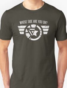 Whose Side Are You On? - Civil War Unisex T-Shirt