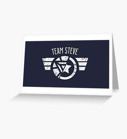 Team Steve - Civil War Greeting Card