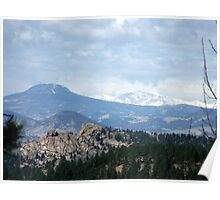 View from the road to Cripple Creek Poster